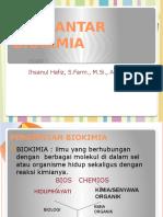 Kuliah I Biokimia