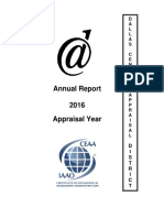 Dallas CAD Annual Report - 2016