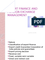 Session 1- Classification of Export Finance