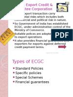 Session 2- ECGC