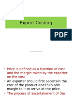 Session 4 Export Costing