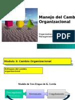 Unidad 1.3. Manejo Del Cambio Organizacional
