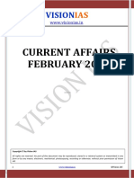 Vision IAS Current Affairs February 2016