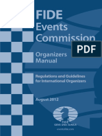 FIDE Organisers Manual