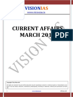 Vision IAS Current Affairs March 2016