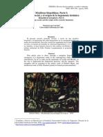 Patricio Lepe. Metáforas Biopolíticas.parte I. Citología Social; y El Origen de La Hegemonía Sistémica