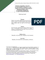 Patricio Lepe Carrión. Metáforas Biopolíticas.parte II.