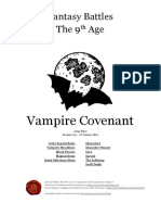 The Ninth Age Vampire Covenant 1 2 1