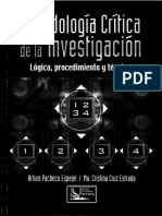 Metodologia critica de la investigacion