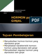 Hormon Pada Ginjal