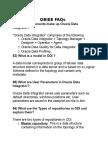 OBIEE FAQs