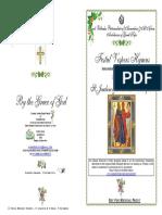 2016 -8-9 Dec- Vespers-st Joachim & St Anna Conception