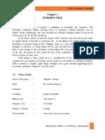 Field Training Report Format22-07c