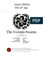 The Ninth Age the Vermin Swarm 1 2 2