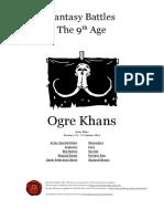 The Ninth Age Ogre Khans 1 2 1