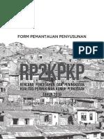 Form Pemantauan Penyusunan Rp2kpkp