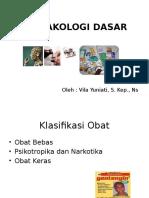 Klasifikasi Obat Smk Sdrmn