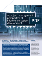 A Project Management Information System