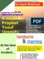 Saying NO - Prophet Yusuf (JOSEPH) Model