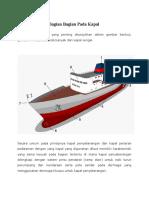 Bagian Bagian Pada Kapal