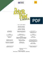 Cs_PeterPan Il Musical Per Scribd
