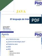 Java -El Lenguaje de Internet