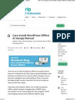 Cara Install Wordpress Offline di Xampp Manual - Nyekrip.pdf