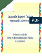Histoire Des Maladies Infectieuses