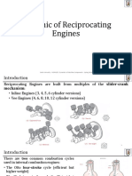 L9 - Dynamics of Reciprocating Engines