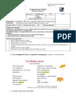 Prueba Lenguaje-Mundos Mágicos UNIDAD 6 -2º BASICO
