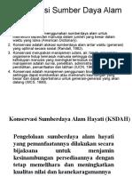 08. Konservasi & Nilai Sumberdaya Alama