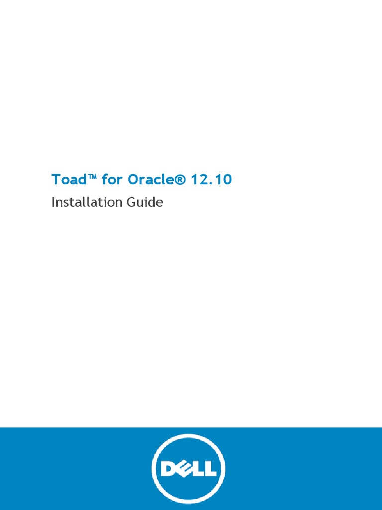 toad for oracle installation guide 1210 oracle database rh es scribd com toad data point installation guide toad for sql server installation guide