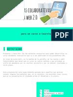 Herramientas Colaborativas Para La Formación y La Web 2.0