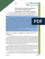 1. Ijapbcr-In Silico Modeling and Docking Studies of Abelmoschus Moschatus Trypsin Inhibitor _amti-II