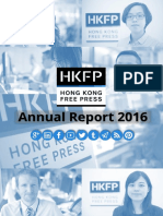 Hong Kong Free Press Annual Report 2016