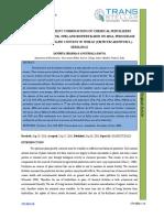 23. Ijasr-effect of Different Combinations of Chemical Fertilizers _urea, Ssp, Mop, Np, Nk, Npk