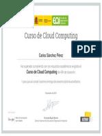 Certificado Cloud Computing (EOI)