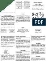 Teorias Del Aprendizaje Brochure