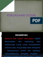 materi kekuasaan sosial