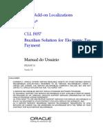 Electronic Tax Payment - Manual Do Usuário