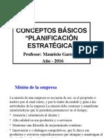 Clase i Planificacion Estrategica