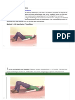 How to Do Pelvic Floor Exercises