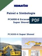 Troubleshooting Komatsu Paineis e Simbologias PC4000