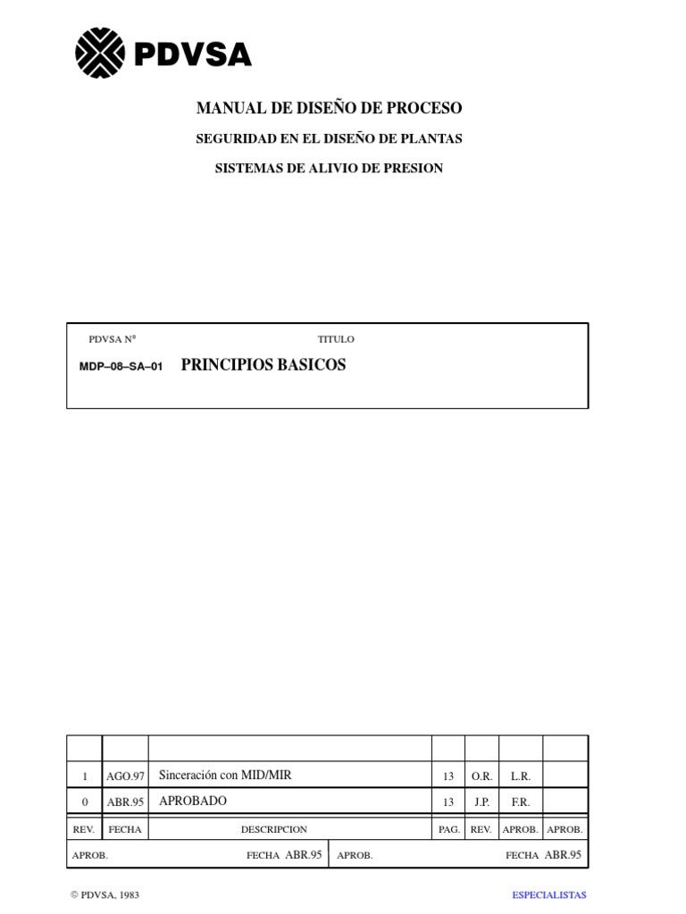 PDVSA - Manual de Procesos (Diseño de Plantas).pdf 877dc06e88ed