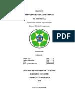 Makalah Struktur Ketenagakerjaan di Indonesia