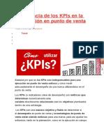 Importancia de Los KPIs en La Ejecución en Punto de Venta