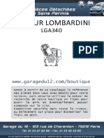 Moteur LGA340