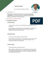 Plan de Elaboración Para El Conversatorio Bethoven Medina Sánchez