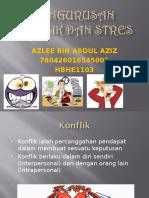 Pengurusan Konflik Dan Stres