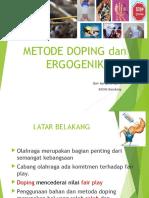 Metoda Doping Dan Ergonenic Aids